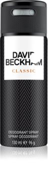 David Beckham Classic deospray per uomo 150 ml