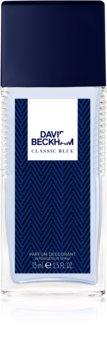 David Beckham Classic Blue Deo mit Zerstäuber für Herren 75 ml