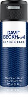 David Beckham Classic Blue Deo-Spray für Herren 150 ml