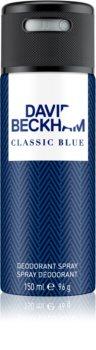 David Beckham Classic Blue Deospray for Men 150 ml