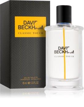 David Beckham Classic Touch eau de toilette pour homme 90 ml