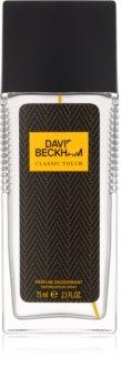 David Beckham Classic Touch deodorant s rozprašovačom pre mužov 75 ml