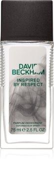 David Beckham Inspired By Respect deodorant s rozprašovačom pre mužov 75 ml