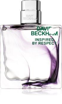 David Beckham Inspired By Respect Eau de Toilette für Herren 90 ml