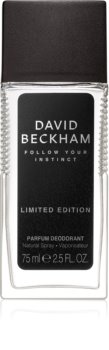 David Beckham Follow Your Instinct dezodorant v razpršilu za moške 75 ml