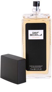 David Beckham Classic déodorant avec vaporisateur pour homme 75 ml