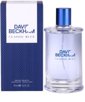 David Beckham Classic Blue Eau de Toilette para homens 90 ml