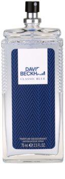 David Beckham Classic Blue déodorant avec vaporisateur pour homme 75 ml