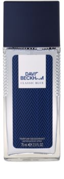 David Beckham Classic Blue spray dezodor férfiaknak 75 ml