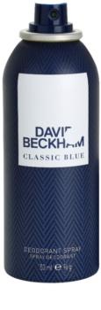 David Beckham Classic Blue deodorant Spray para homens 150 ml