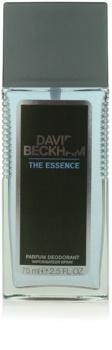 David Beckham The Essence Deo mit Zerstäuber für Herren 75 ml