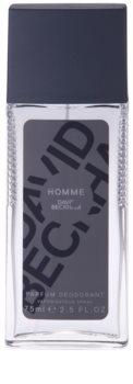David Beckham Homme дезодорант з пульверизатором для чоловіків 75 мл