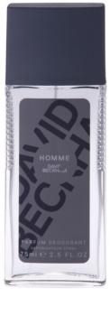 David Beckham Homme spray dezodor férfiaknak 75 ml