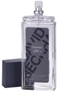 David Beckham Homme deodorant s rozprašovačom pre mužov 75 ml