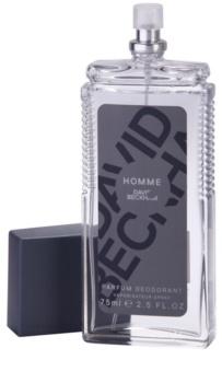 David Beckham Homme desodorizante vaporizador para homens 75 ml