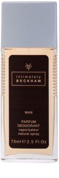 David Beckham Intimately Men déodorant avec vaporisateur pour homme 75 ml