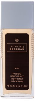 David Beckham Intimately Men deodorant s rozprašovačom pre mužov 75 ml