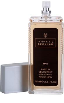 David Beckham Intimately Men deodorante con diffusore per uomo 75 ml