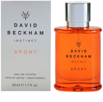 David Beckham Instinct Sport eau de toilette para homens 50 ml