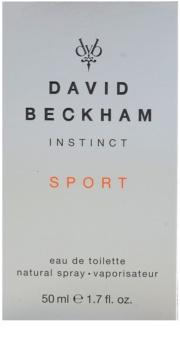 David Beckham Instinct Sport Eau de Toilette voor Mannen 50 ml