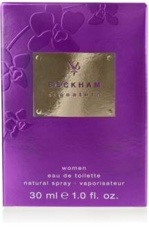 David Beckham Signature for Her eau de toilette nőknek 30 ml