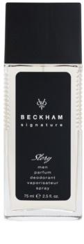David Beckham Signature for Him Story Deo met verstuiver voor Mannen 75 ml