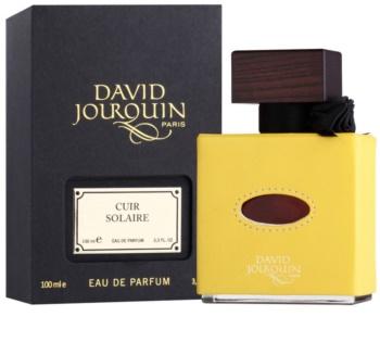 David Jourquin Cuir Solaire Parfumovaná voda unisex 100 ml