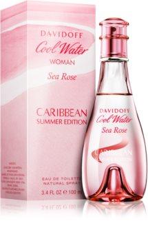 Davidoff Cool Water Woman Sea Rose Caribbean Summer Edition woda toaletowa dla kobiet 100 ml
