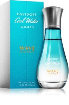 Davidoff Cool Water Woman Wave toaletní voda pro ženy 30 ml