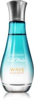 Davidoff Cool Water Woman Wave toaletní voda pro ženy 50 ml
