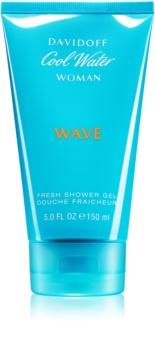 Davidoff Cool Water Woman Wave sprchový gél pre ženy 150 ml