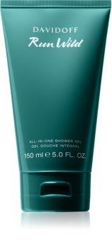 Davidoff Run Wild Shower Gel for Men 150 ml