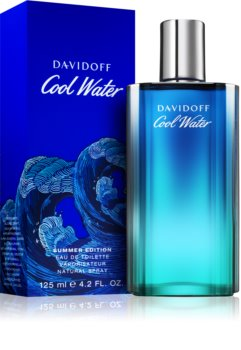 Davidoff Cool Water Mediterranean Summer Edition Eau de Toilette voor Mannen 125 ml