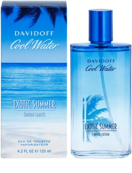 Davidoff Cool Water Exotic Summer Limited Edition Eau de Toilette para homens 125 ml