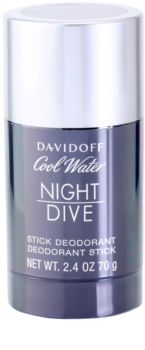 Davidoff Cool Water Night Dive deodorante stick per uomo 70 g