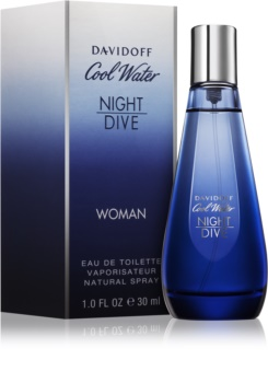 Davidoff Cool Water Woman Night Dive eau de toilette nőknek 30 ml