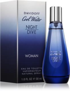 Davidoff Cool Water Woman Night Dive eau de toilette per donna 30 ml