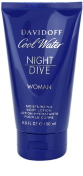 Davidoff Cool Water Woman Night Dive leite corporal para mulheres 150 ml