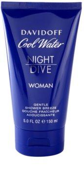 Davidoff Cool Water Woman Night Dive sprchový gel pro ženy 150 ml