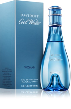 Davidoff Cool Water Woman Eau de Toilette für Damen 100 ml