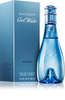 Davidoff Cool Water Woman eau de toilette pentru femei 100 ml