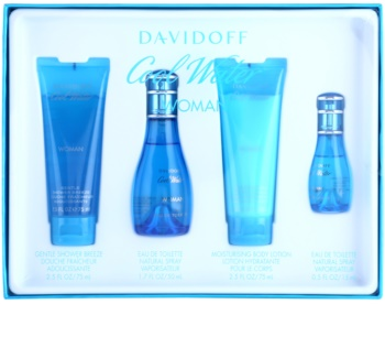 Davidoff Cool Water Woman coffret cadeau XIII.