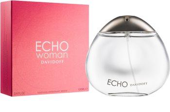 Davidoff Echo Woman deodorant s rozprašovačom pre ženy 100 ml