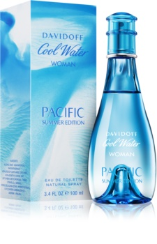 Davidoff Cool Water Woman Pacific Summer Edition toaletná voda pre ženy 100 ml