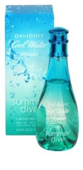 Davidoff Cool Water Woman Summer Dive 2011 toaletní voda pro ženy 100 ml