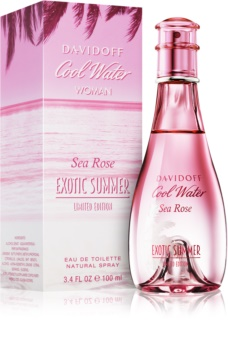 Davidoff Cool Water Woman Sea Rose Exotic Summer Limited Edition toaletná voda pre ženy 100 ml