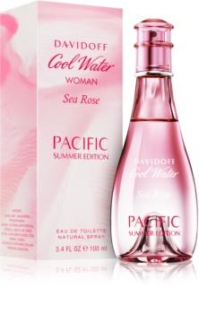 Davidoff Cool Water Woman Sea Rose Pacific Summer Edition Eau de Toilette für Damen 100 ml