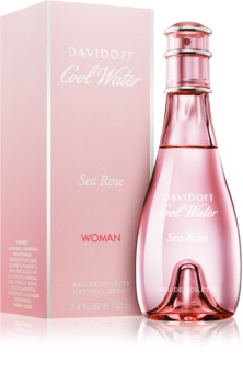 Davidoff Cool Water Woman Sea Rose Eau de Toilette for Women 100 ml