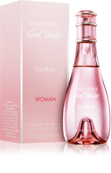 Davidoff Cool Water Woman Sea Rose Eau de Toilette for Women 50 ml