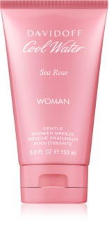 Davidoff Cool Water Woman Sea Rose gel douche pour femme 150 ml